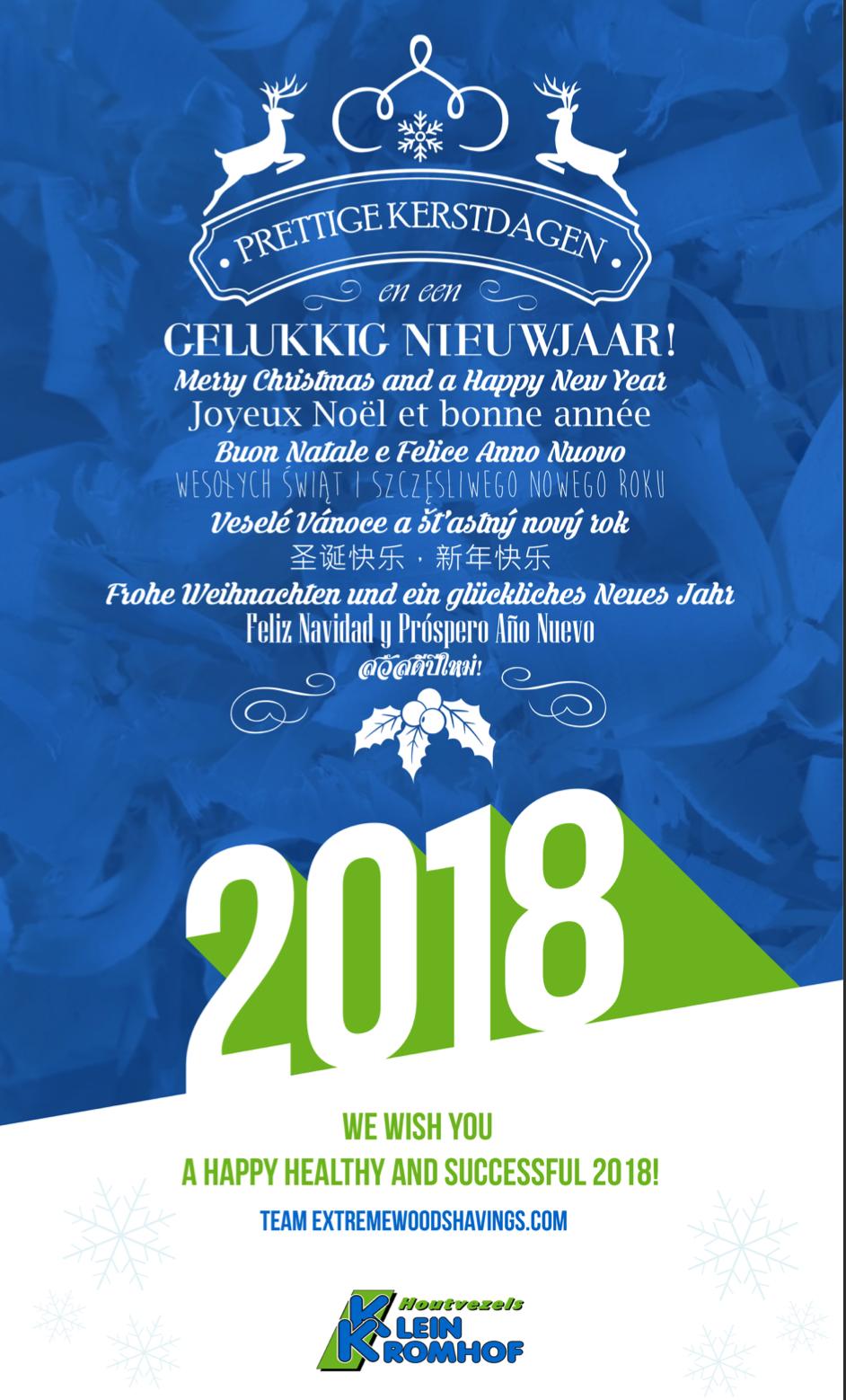 Frohe Weihnachten und Ein Glückliches Neues Jahr by extremewoodshavings.com