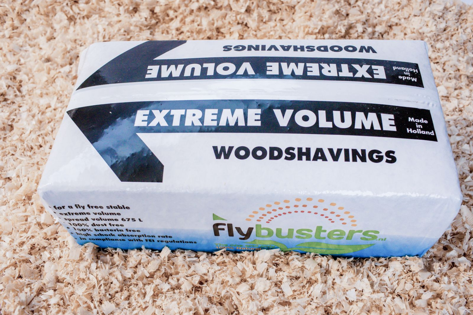 Extreme Volume® Woodshavings Flybusters